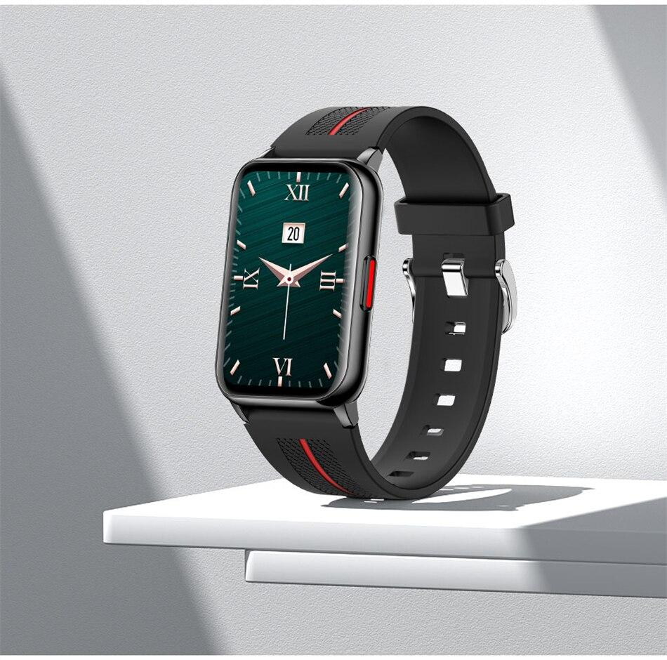 H2a80c29c3c2344a0becc145791bcbef18 New Smart Band Watch Fitness Tracker Bracelet Waterproof Smartwatch Heart Rate Monitor Blood Oxygen LED Screen For Huawei Xiaomi
