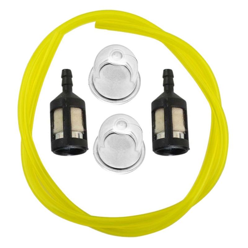 Primerbulb Bulb + Fuel Filter + Fue Line For Homelite Bp250 Hb180 Hb18V Gst Gst18 Gstbc Hbc18 Hbc30 Hbc30B Hgt Hlt15 Hlt16 St275