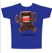 Domo-kun Jumping T-Shirt Adult NEW(1)(China)