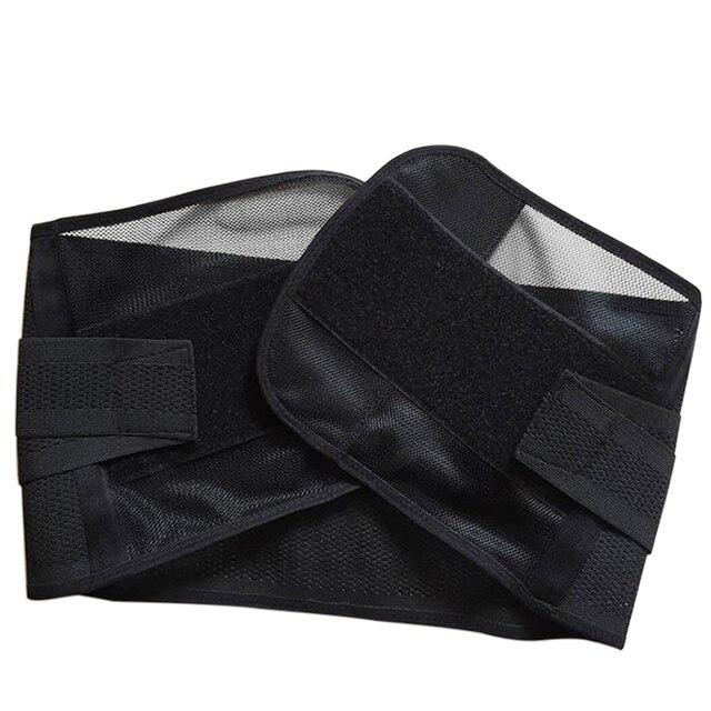 Popfeel Men's Belly Tummy Abdomen Waist Slimming Shaper Wrapper Girdle Belt Breathable Slimming Waist Trimmer Belt 5