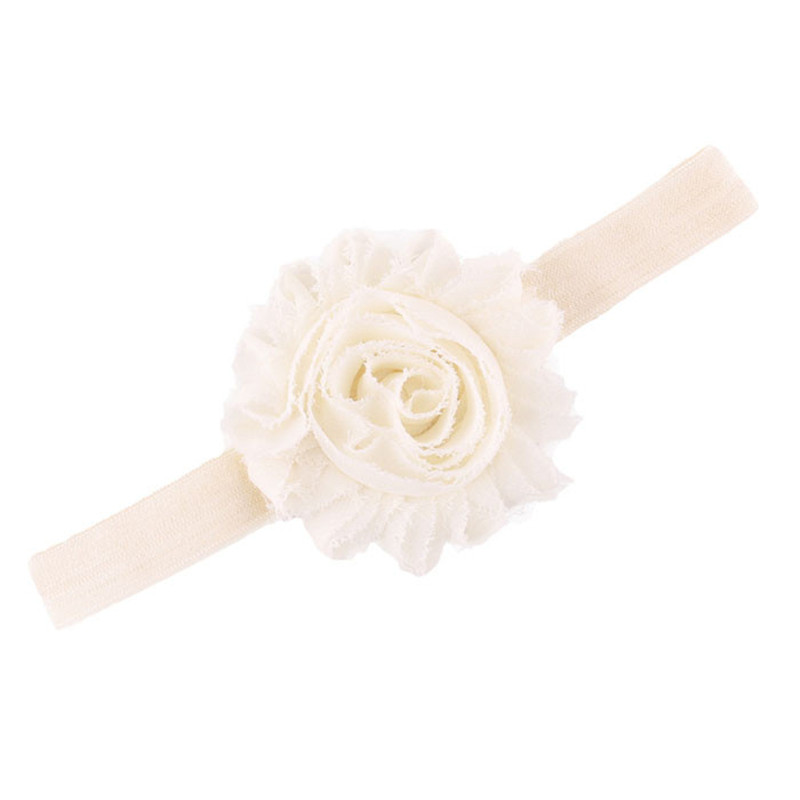 Flower Lovely Baby Headbands Fashion Lace Up Headbands Girls Infant Hair Band Baby Headband Newborn Hair Accessories Turban