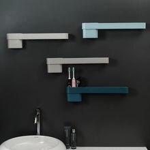 Bathroom rack toilet vanity towel rack free punch wall-mounted storage rack shelves