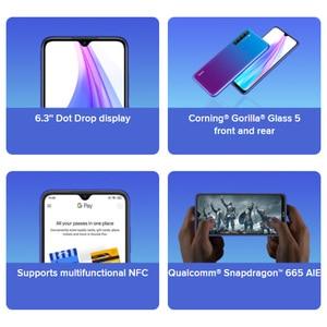"""Image 5 - グローバルバージョンxiaomi redmi注 8t 4 ギガバイト 64 ギガバイトスマートフォンのsnapdragon 665 オクタコア 48MPクワッドカメラ 6.3 """"fhd画面の携帯電話"""