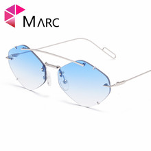 MARC Yellow Sunglasses Women Retro Brand Designer Sun Glasses For womenLuxury Ladies Sunglasses Female Oculos