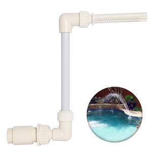 Регулируемый прочный фонтан для бассейна, украшение для бассейна, легко устанавливается, аксессуары для водного пейзажа