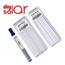 Cellule solaire onglet bus barre fil PV ruban pour tabulation 10M bricolage connecter 951 kester 1 M Flux stylo soudure colophane PV panneau solaire