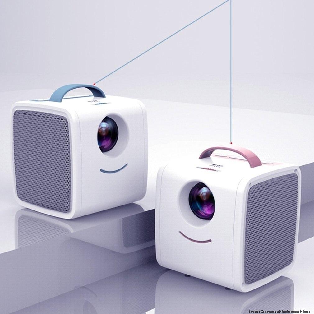 Q2 MINI projecteur enfants éducation enfants cadeau Parent-enfant Portable projecteur Mini LED TV maison projecteur livraison directe chaude