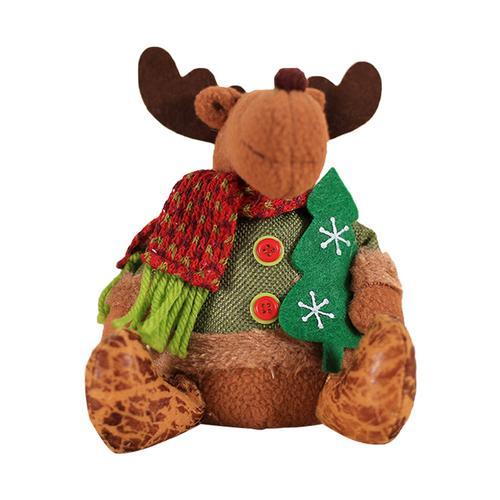 Хит, 30 стилей, рождественские украшения для дома, Рождественские куклы, елочные украшения, инновационная декорация с лосем, Сантой, снеговиком - Цвет: K 20x15cm