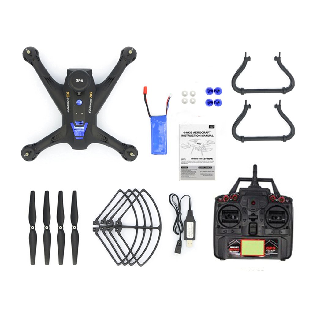 Global <font><b>Drone</b></font> <font><b>X183</b></font> Professional Dual <font><b>GPS</b></font> <font><b>Follow</b></font> Me Quadrocopter with 720P Camera HD RTF FPV <font><b>GPS</b></font> Helicopter RC Quadcopter VS X8PRO image