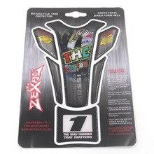 Мотоцикл наклейки для топливного бака Fishbone бампер наклейки протектор Подходит для Honda Yamaha Suzuki наклейки Росси наклейки