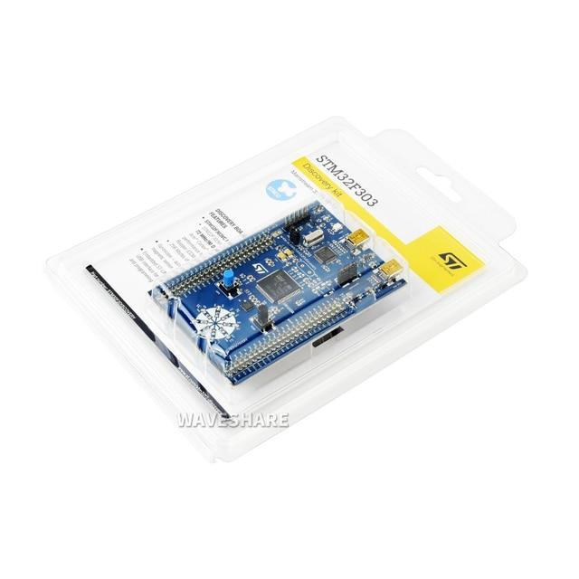 100% ST Original STM32F3DISCOVERY Discovery Kit STM32F303VCT6 ARM Cortex M4 STM32 Development Board On board ST LINK/V2