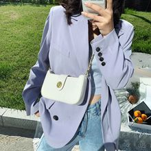 Summer purple small bag female 2020 new fashion chain small square bag wild shoulder messenger bag цена 2017