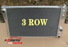 3 REIHE Aluminium Kühler Für Chevrolet Chevy Corvette 5,7 L 350Cu L83/S10 V8 Umbauten 35th ZR-1 1984-1990 kleine Block 88 89 90