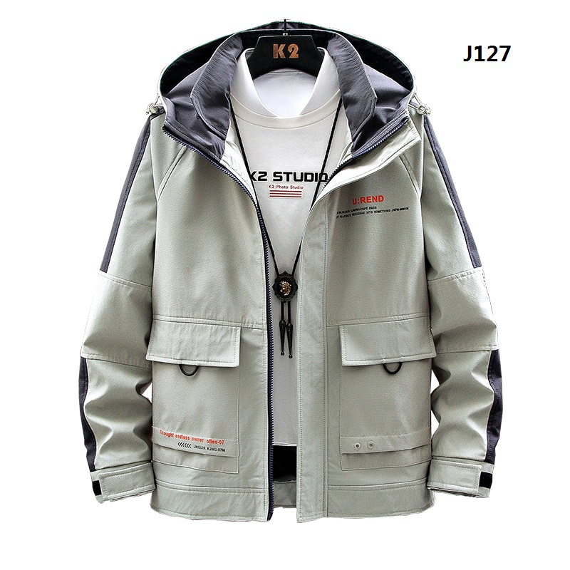 Men's Casual Hip Hop Hooded Jacket 2020 New Patchwork Coat Men High Quality Letter Bomber Windbreaker Overcoat Streetwear;YA365