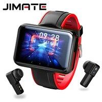 Uomo donna Smartwatch cuffie Bluetooth senza fili auricolari TWS Smartwatch cuffie sportive 2 in 1 Fitness Tracker Smartwatch