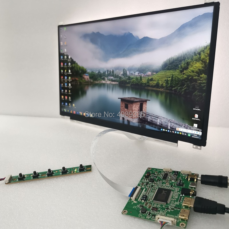 13.3 Inch Display Touch Module Kit 1920X1080IPS Full Viewing Angle 10 Point Capacitive Touch Matching