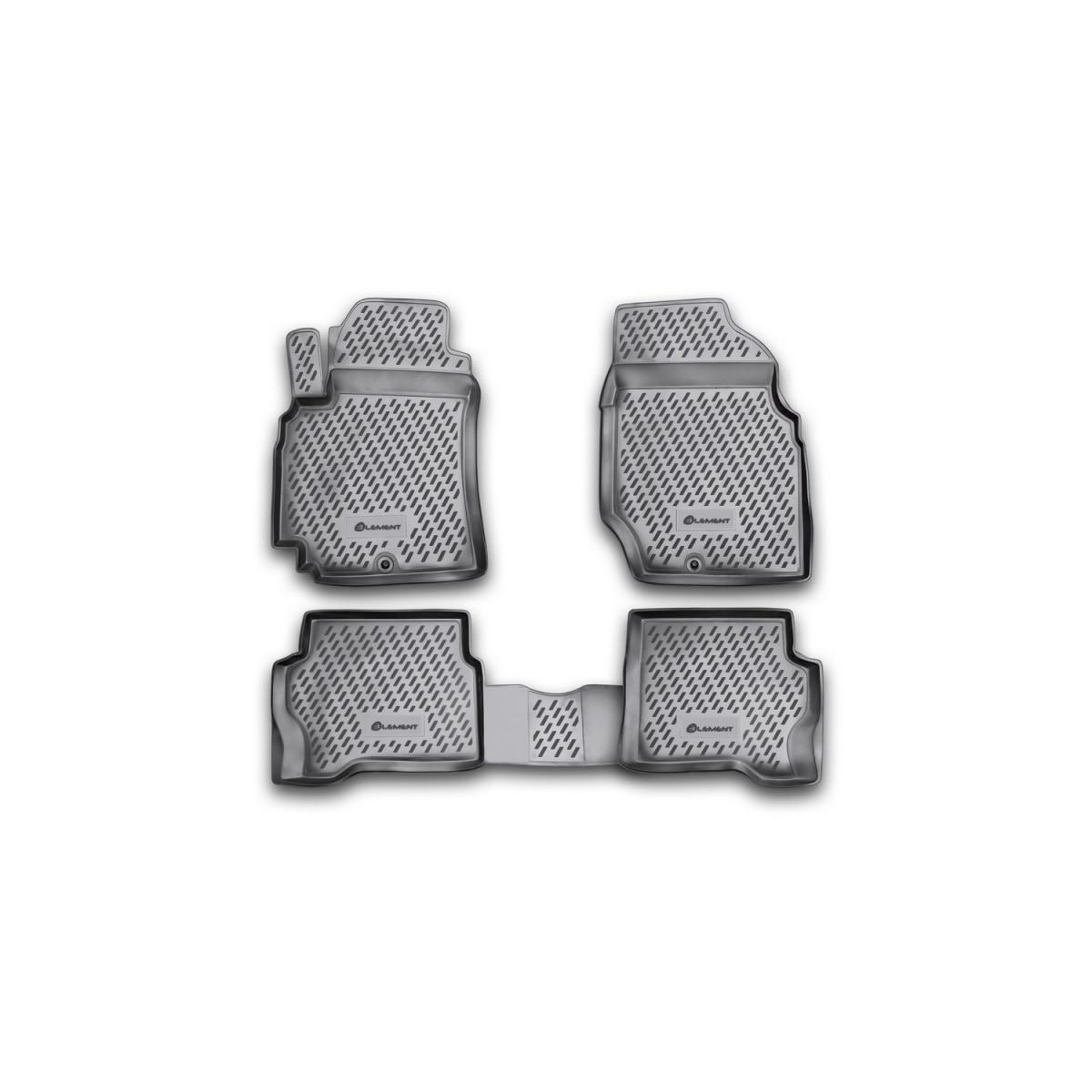 Floor mats Nissan Almera classic 2006 > 4 PCs (PU) Nissan Almera)|Floor Mats| |  - title=