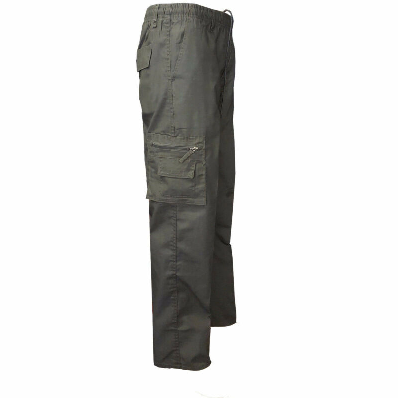 Men Camping Hiking Army Cargo Combat Military Pants Mens Straight Long Trousers Pants Casual Size M-3XL