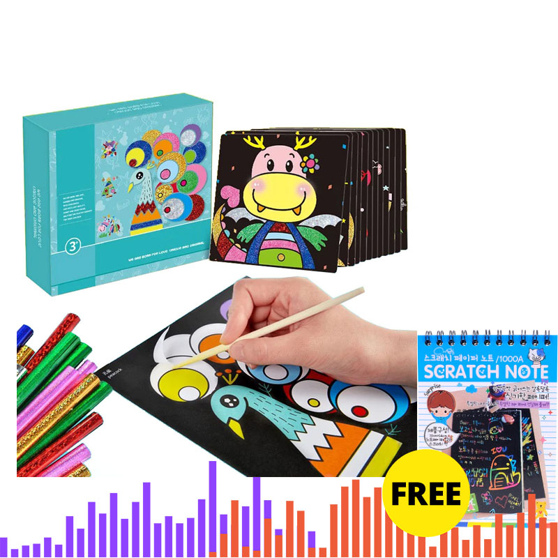 DIY Kids Craft NEW Magic Transfer Sticker Educational Children Toys Easter Decoration Diy Toys For Children Toys DIY Kids Craft