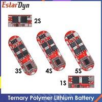 BMS 1S 2S 10A 3S 4s 5s 25A Bms 18650 Li-ion Lipo batteria al litio protezione circuito stampato Pcb Pcm 18650 Lipo Bms carica