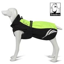 Truelove – veste d'hiver pour chien, manteau chaud, réfléchissant, ajustable, pour l'extérieur, moyen et grand gabarit