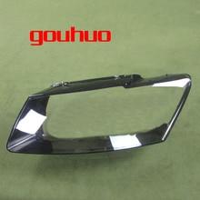 For Audi Q5 2013 2014 2015 2016 Headlamps Ransparent Cove Headlights Shell Lampshade Lens Headlamp Shell Glass Lens