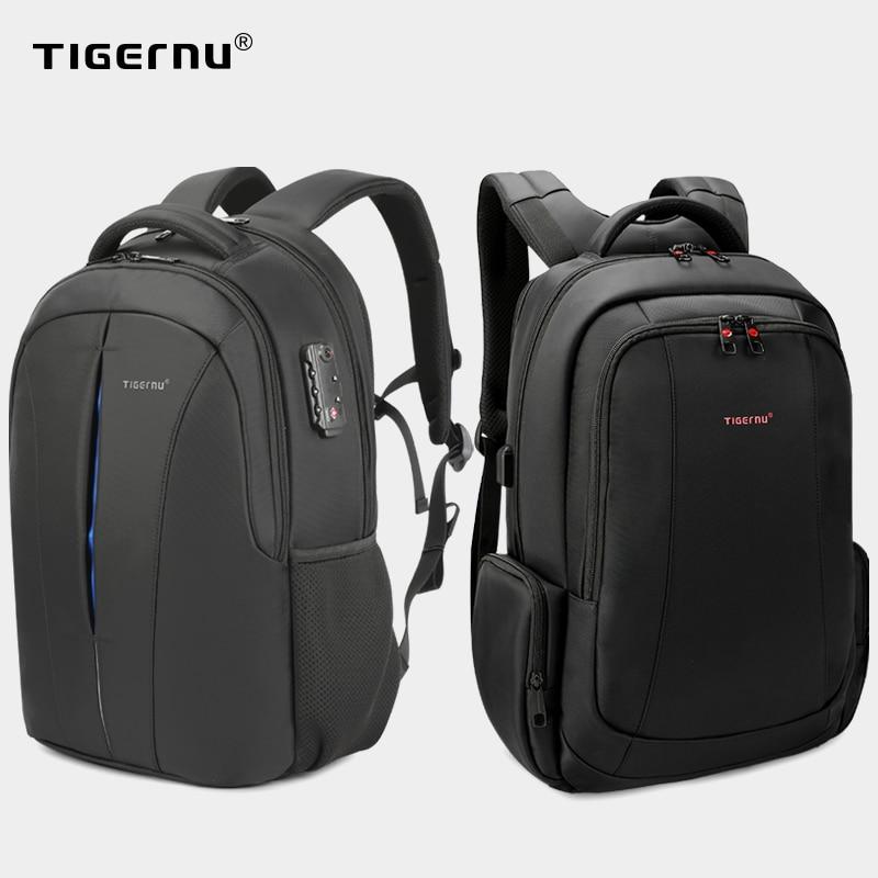 Sac à dos Anti-vol pour hommes, grande remise, 15.6 pouces, chargeur USB sacs à dos d'ordinateur portable, voyage, dédouanement rapide, meilleur prix