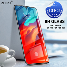 10 Pcs Tempered Glass For Lenovo Z6 Pro / Lite Screen Protector 2.5D 9H Protective Film