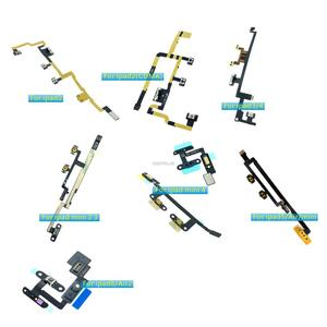 New For iPad 2 2(CDMA) 3 4 mini 2 34 5/Air/mini 6/Air2 Power on/off Volume Switch Button Control Flex Cable Replacement