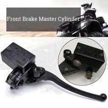 Черный алюминиевый передний тормоз Замена для Honda CM400 CM450 CX500 CB350 CB400 CB650 CB750 передний тормозной главный цилиндр