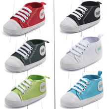 So cool design baby plimsolls baby shoes popular baby shoes baby prewalker different color hot selling baby prewalker cheap Canvas COTTON Unisex All seasons Lace-Up Fits true to size take your normal size First Walkers Solid