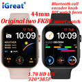 Оригинальные Смарт-часы iwo FK88 для мужчин, Bluetooth, звонки, GPS, 1,78 дюйма, HD, кодировщик, ручка, монитор здоровья, музыка, женские Смарт-часы PK FK78 W46