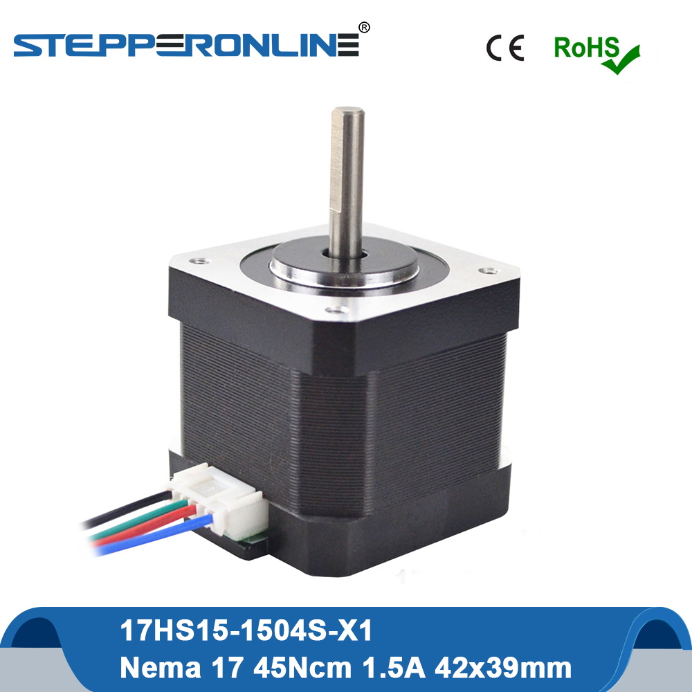 3D Printer Accessory Stepper Motor Nema 42 1.8 Deg 4Wires 60mm 1.5A Bipolar