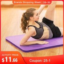 SGODDE 183*61*1cm Thickess Non-Slip Yoga Mat Sport Gym Soft