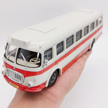 Sale Gift box packaging bus,1:43 abs plastic Skoda 706 RTO bus,simulation plastic sliding toy,high quality gift,free shipping