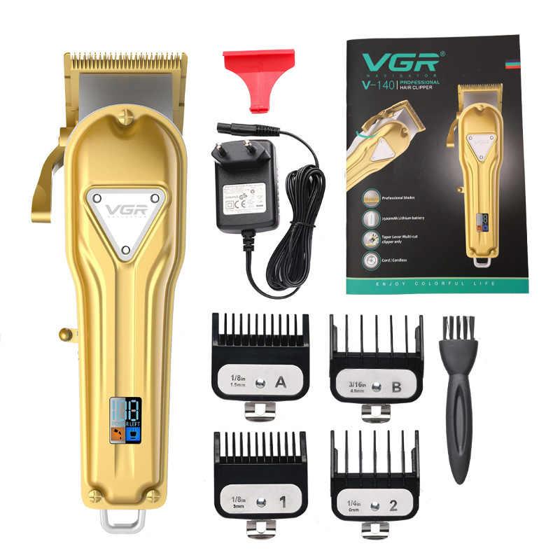 コードレスプロバリカンテーパーレバー理髪トリマーヘアカッター電気毛切断機散髪調整可能なブレード