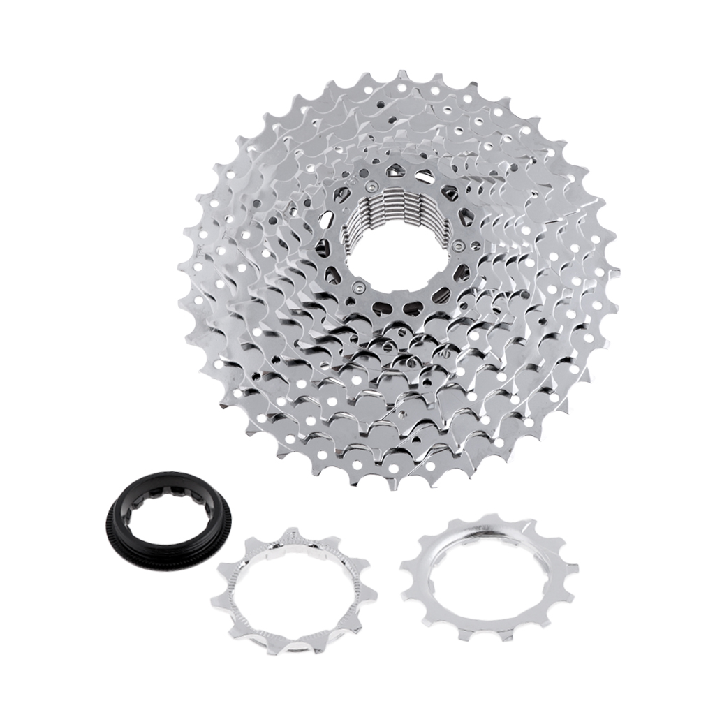Aluminum Alloy 10 Speed 11-<font><b>36T</b></font> MTB Mountain Road Bike Bicycle Cassette Freewheel <font><b>Sprocket</b></font> image