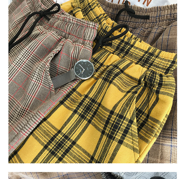 Privathinker Harajuku Plaid Pants For Women Trousers 2020 Streetwear Woman Harem Pants Autumn Ladies Causal Pants Plus Size 51