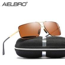Vintage Sunglasses Sets Men Polarized Minus Prescription Classic Pilot for Driving UV400 Square Female