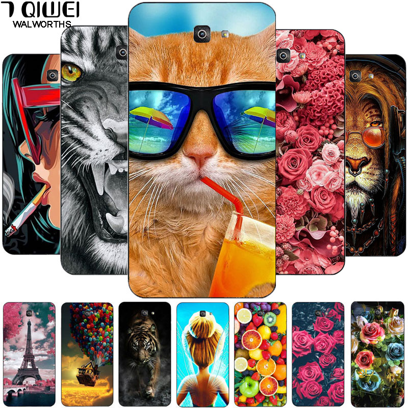 5.5'' For Samsung J7 Prime 2 Case Silicone Soft TPU Case For Samsung Galaxy J7 Prime 2 Case J7 Prime2 Cover G611 G611F 2018 Slim image