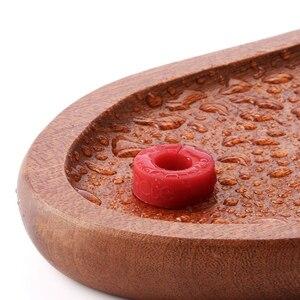 Image 5 - 8 pièces/boîte plus récent cercle joie vin verre Identification anneau rouge vin alimentaire niveau de Contact large gamme de tasses lumière