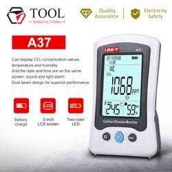 UNI-T Carbon Dioxide Digital Monitor Air Quality Detector CO2 Laser Detector A37 Carbon Dioxide Tester
