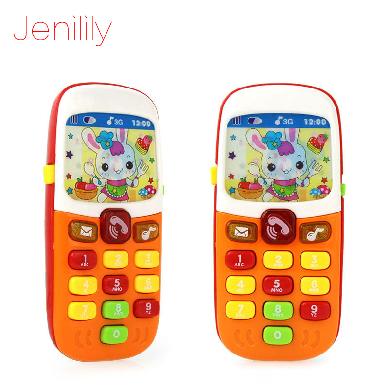 Baby Phone Mobile Cellphone Telephone Early Learning Toys Music Phone Best Gift For Children Kids Infant