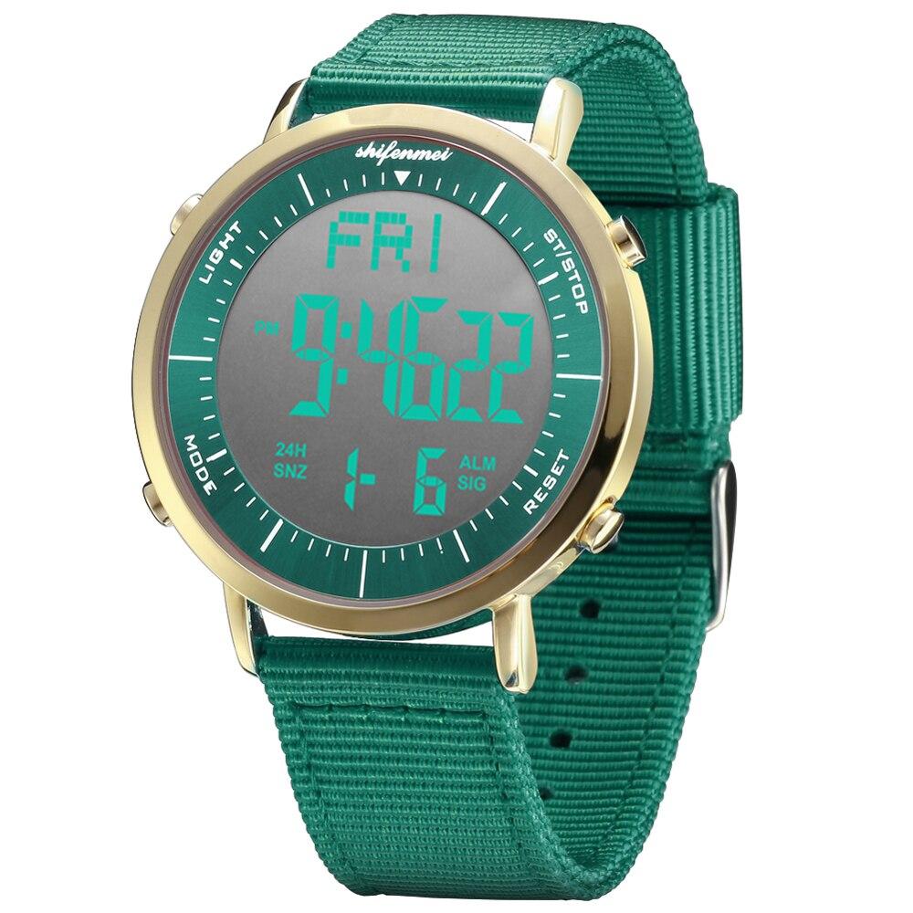 Shifenmei Women Watch Digital Watch Ladies Electronic Watch Ladies' Sports Watch Outdoor LED Wristwatches Relogio Masculino