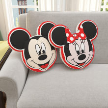Disney Minnie Mickey Mouse Stereo Pillow Quilt Blanket Dual Purpose Street Art Sofa Pillow Covers Back Cushion Gifts M5620(China)