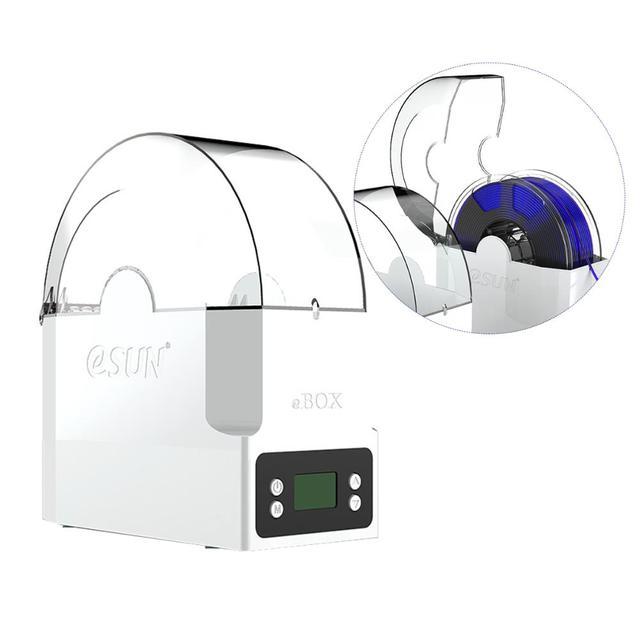 ESUN eBOX ثلاثية الأبعاد طابعة خيوط صندوق حامل تخزين خيوط حفظ خيوط الجافة قياس وزن خيوط لأجزاء طابعة ثلاثية الأبعاد