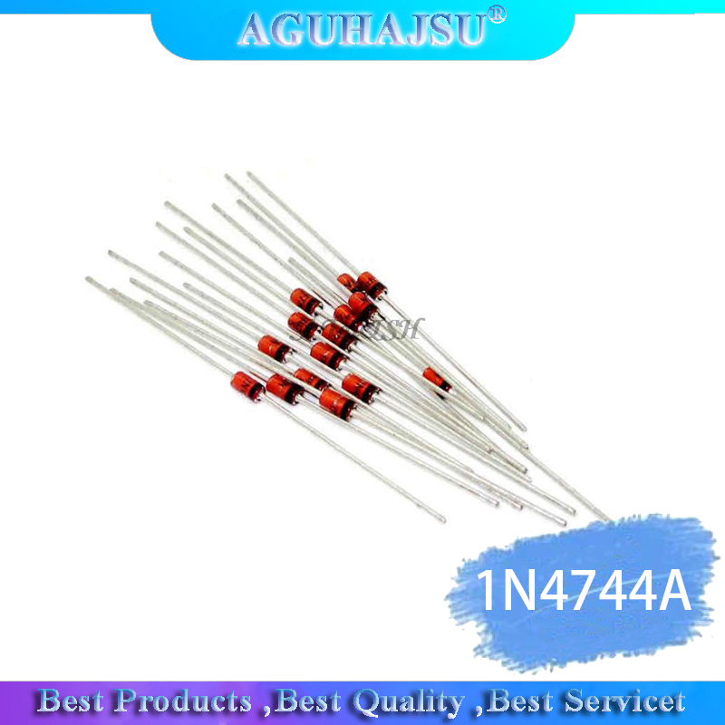 100PCS 1W 15V <font><b>1N4744A</b></font> 1N4744 DO-41 diode image