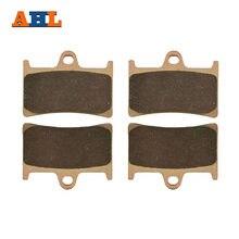 AHL Copper Based Front Brake Pads For YAMAHA TZR125R FZR400RR TZR250 XP500 XP530 MT-07 MT-09 TDM900 FZS1000 Fazer FA252
