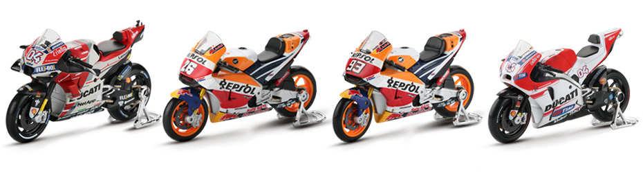 Moto GP Racing Motorcycle Toy Model Collection 8