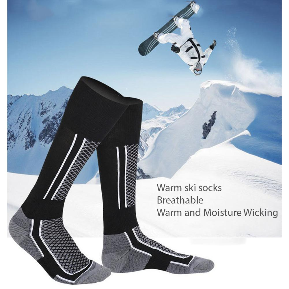 Professional Winter Sports Ski Socks Adult Children Thicken Warm Breathable Quick-drying Stockings Skating Skiing Hiking Socks